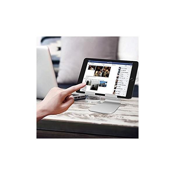 タブレット スタンド ホルダー 角度調整可能, Lomicall ipad スタンド : 充電アイパッドスタンド, ホルダー 対応 タブレッ|benriithiban|07