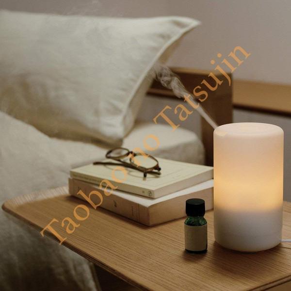 iFormosa アロマディフューザー 超音波加湿器 車載OK USBケーブル付属 暖色LED IF-ARM-SC-70
