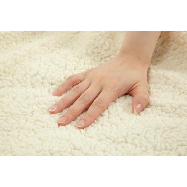 シープ調2枚合わせマイクロファイバー毛布 羊毛のような手触りのもこもこ毛布 シングル 140×200cm ブラウン×ブラウンのリバーシブル
