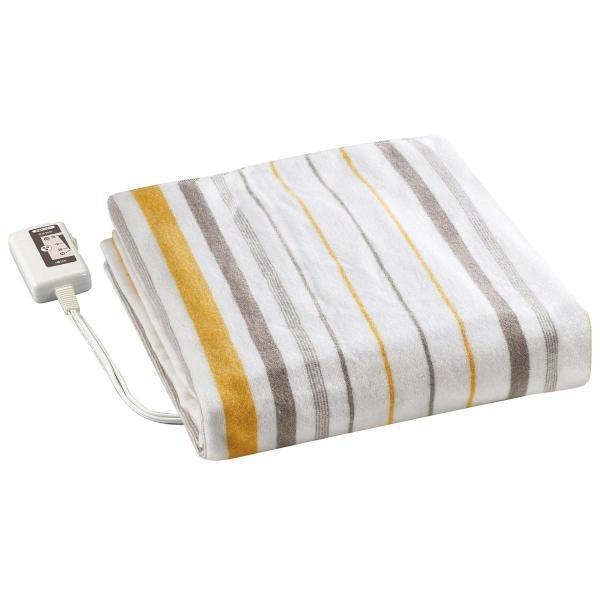 広電(KODEN) 電気毛布(掛・敷毛布) 抗菌防臭加工 室温センサー付 Mサイズ(188×130cm) CWK802-HB