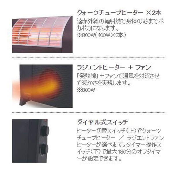 APIX デュアルヒーター マットブラック ADH-712-BK