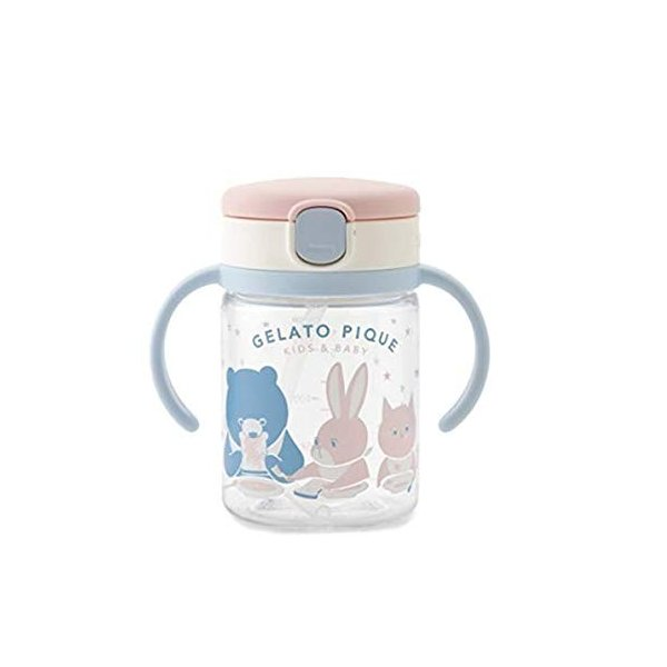 gelato pique ジェラートピケ baby ストローマグ pbgg189001/2018春夏 OFFWHITE