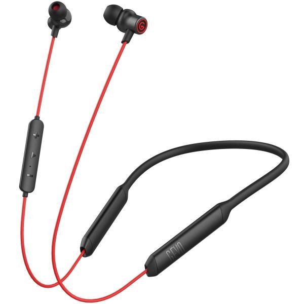 16時間連続再生&AAC対応BluetoothイヤホンGEVO ネックバンド型ワイヤレスイヤホン Bluetooth5.0 Hi-Fi高音質|benriithiban