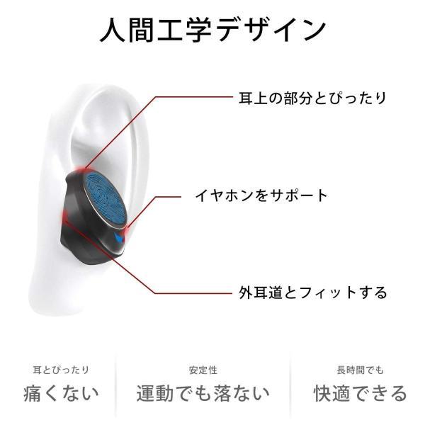 2019最新版 Bluetooth イヤホン Bluetooth5.0 IPX8防水NPET 完全ワイヤレス イヤホン 高音質 重低音 80 benriithiban 02