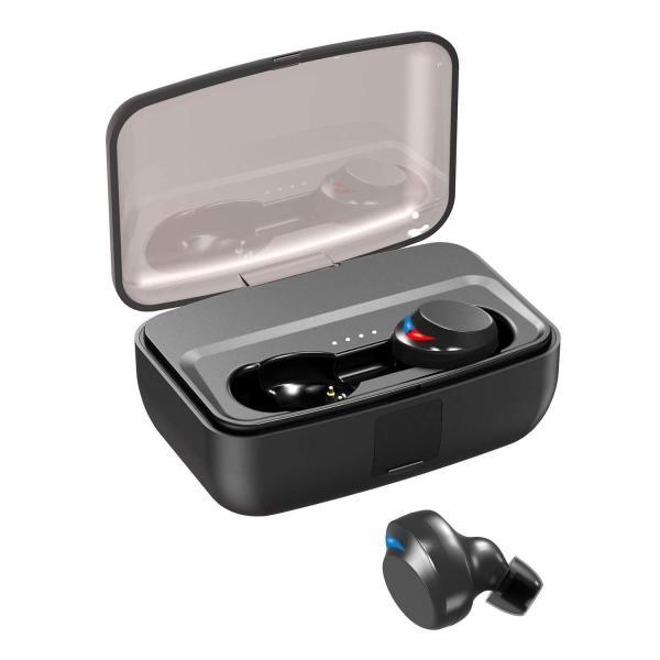 2019最新版 Bluetooth イヤホン Bluetooth5.0 IPX8防水NPET 完全ワイヤレス イヤホン 高音質 重低音 80 benriithiban 03
