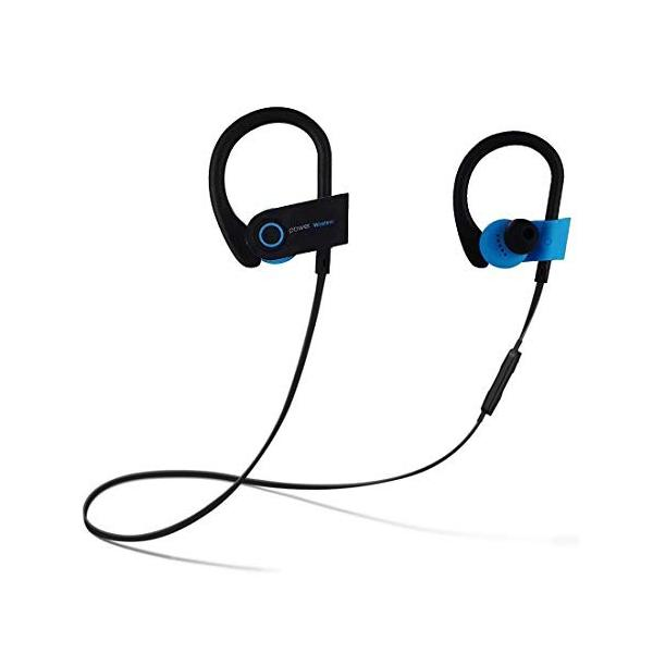 Power Wireless Bluetoothイヤホン スポーツ用 ワイヤレス イヤホン 防水防汗 高音質 マイク付き 小さくて精巧 専用|benriithiban|06