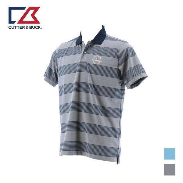 40%OFF セール CUTTER&BUCK カッターアンドバック メンズ ゴルフ 半袖シャツ 19SS バーズアイボーダーショートスリーブシャツ  ゴルフウェア CGMNJA08