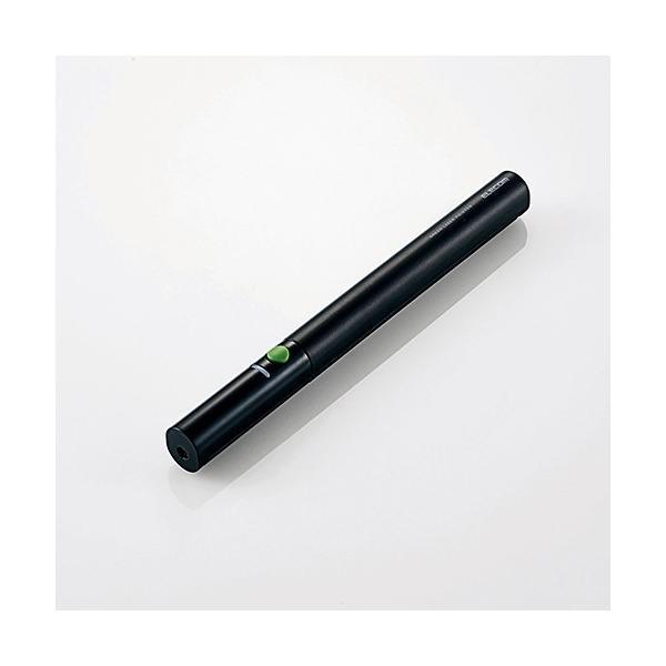 エレコム ELP-GL09BK 緑色レーザーポインター(ペンタイプ)
