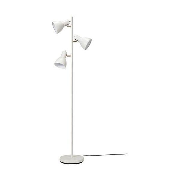 オーム電機 TF-YN30BW-W(ホワイト) スタンドライト フロアスタンド式 電球別売 06-1487