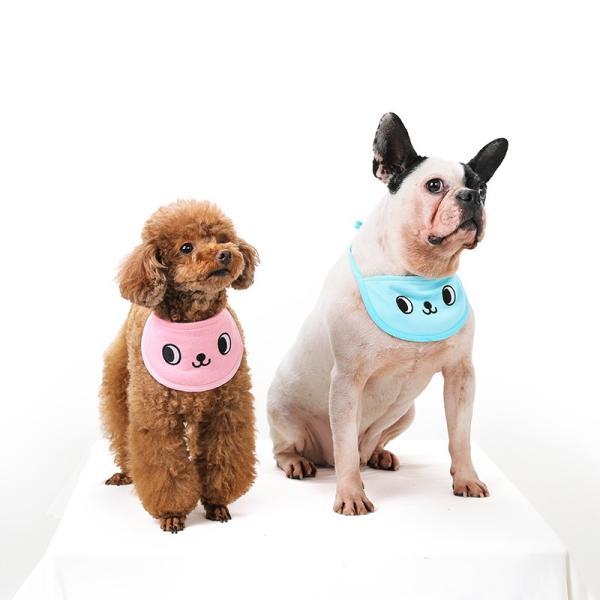 クールスカーフ 4Color / 保冷剤2個セット 犬 夏 バンダナ スカーフ ひんやり 暑さ対策 軽量 かわいい 安心 安全 刺繍 クール 涼しい best-friends 11