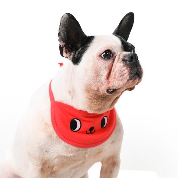 クールスカーフ 4Color / 保冷剤2個セット 犬 夏 バンダナ スカーフ ひんやり 暑さ対策 軽量 かわいい 安心 安全 刺繍 クール 涼しい best-friends 10