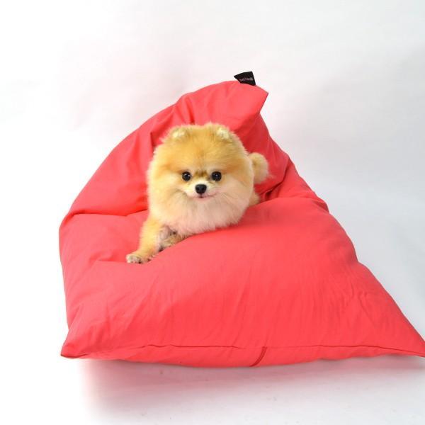 INDOOR 三角クッション / M ミディアムサイズ  / 7Color / 犬 ベッド クッション マイクロファイバー 洗える カバー おしゃれ|best-friends|03