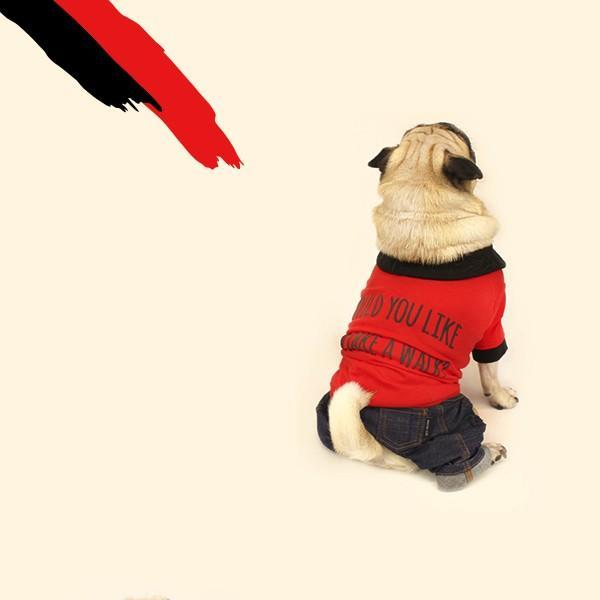 エンボスプリント ツートン ポロシャツ     S,SM,M,L,XL,XXL 犬 服 犬の服 ドッグウェア ポロ ポロT ポロシャツ Tシャツ 綿100%|best-friends|06