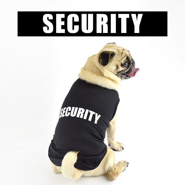 犬 服 夏用 涼しい SECURITY クールメッシュタンク / 犬の服 ドッグウェア 夏 タンクトップ ノースリーブ セキュリティー クール メッシュ 洋服|best-friends