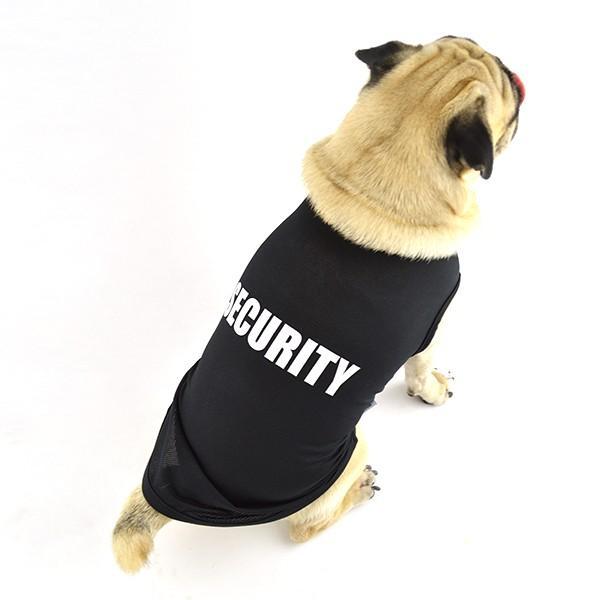 犬 服 夏用 涼しい SECURITY クールメッシュタンク / 犬の服 ドッグウェア 夏 タンクトップ ノースリーブ セキュリティー クール メッシュ 洋服|best-friends|02