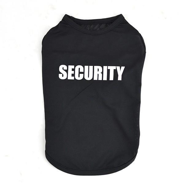 犬 服 夏用 涼しい SECURITY クールメッシュタンク / 犬の服 ドッグウェア 夏 タンクトップ ノースリーブ セキュリティー クール メッシュ 洋服|best-friends|05