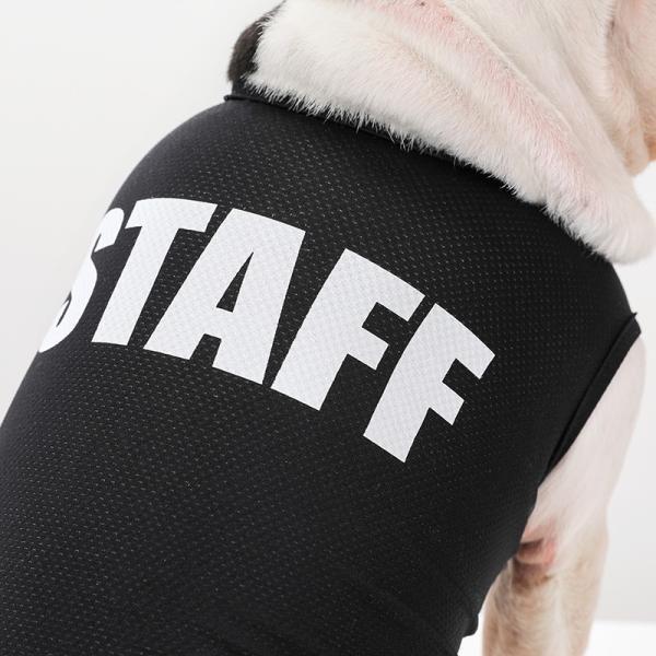STAFF クールメッシュタンク   犬服 犬の服 ドッグウェア夏 タンクトップ ノースリーブ スタッフ  クール メッシュ|best-friends|04