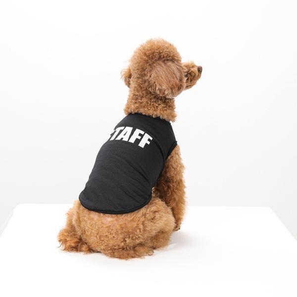 STAFF クールメッシュタンク   犬服 犬の服 ドッグウェア夏 タンクトップ ノースリーブ スタッフ  クール メッシュ|best-friends|06
