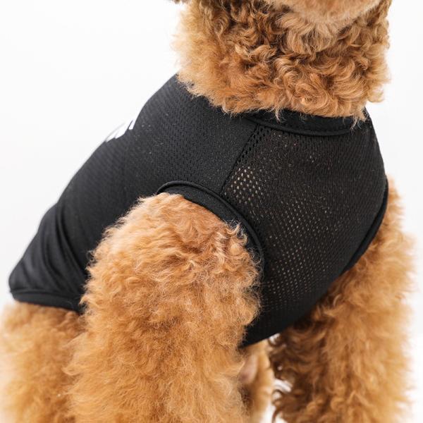STAFF クールメッシュタンク   犬服 犬の服 ドッグウェア夏 タンクトップ ノースリーブ スタッフ  クール メッシュ|best-friends|08