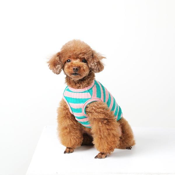 BF ボーダータンク   ,XXL犬服 犬の服 ドッグウェア夏 タンクトップ ノースリーブ スタッフ  綿 コットン 100%|best-friends|03