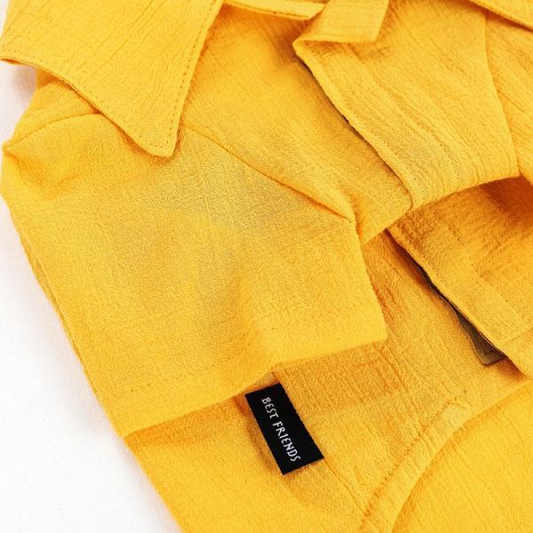 シアサッカー アロハシャツ      犬 服 夏 クール 犬の服 ドッグウェア シャツ おしゃれ スナップボタン|best-friends|14