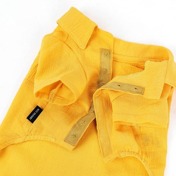 シアサッカー アロハシャツ      犬 服 夏 クール 犬の服 ドッグウェア シャツ おしゃれ スナップボタン|best-friends|15