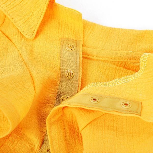 シアサッカー アロハシャツ      犬 服 夏 クール 犬の服 ドッグウェア シャツ おしゃれ スナップボタン|best-friends|16