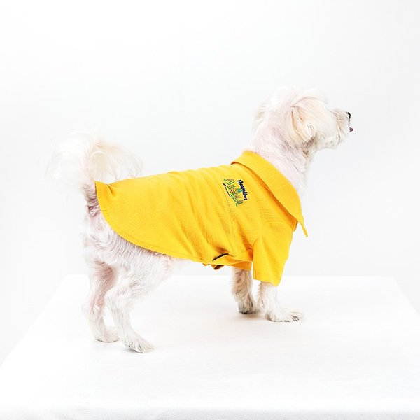 シアサッカー アロハシャツ      犬 服 夏 クール 犬の服 ドッグウェア シャツ おしゃれ スナップボタン|best-friends|03