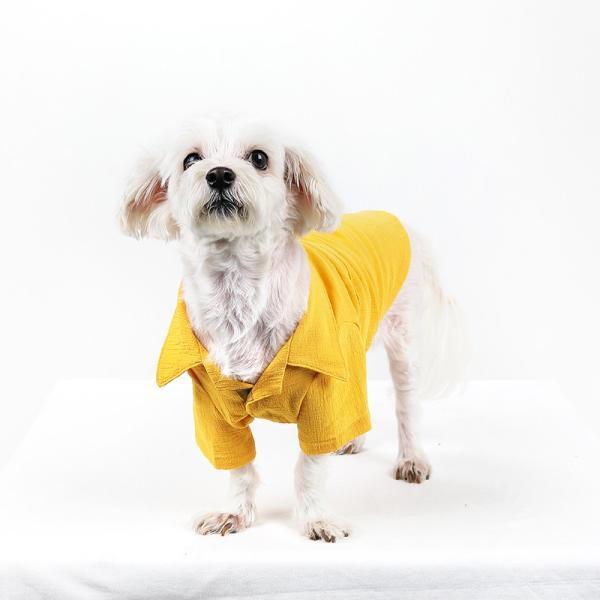 シアサッカー アロハシャツ      犬 服 夏 クール 犬の服 ドッグウェア シャツ おしゃれ スナップボタン|best-friends|04