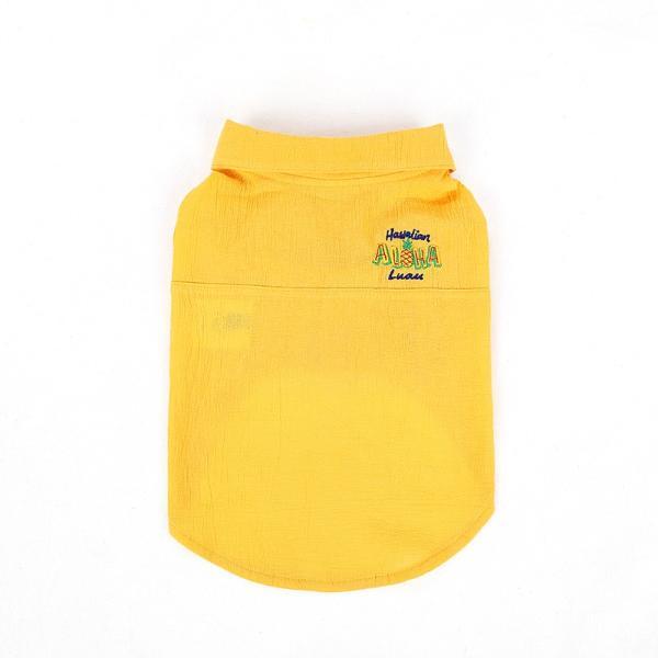 シアサッカー アロハシャツ      犬 服 夏 クール 犬の服 ドッグウェア シャツ おしゃれ スナップボタン|best-friends|10