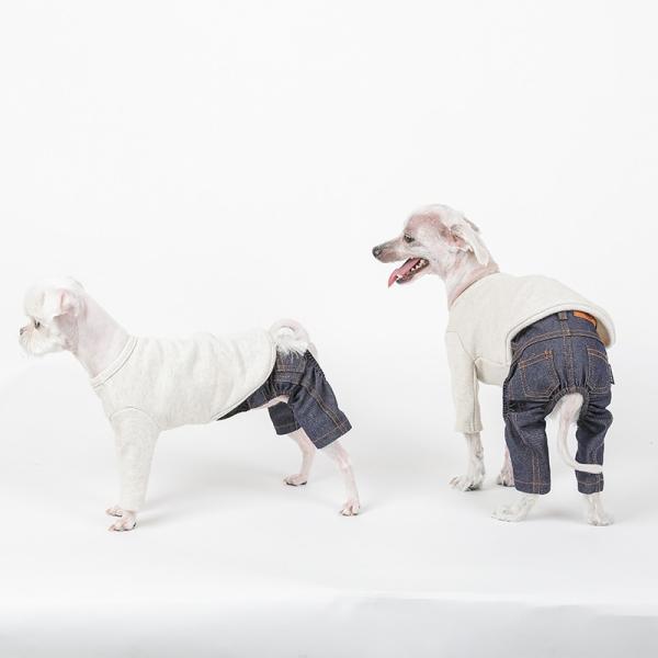 デニム パンツ      犬 服 犬の服 ドッグウェア デニム パンツ ズボン ジーパン ジーンズ ストレッチ|best-friends|02