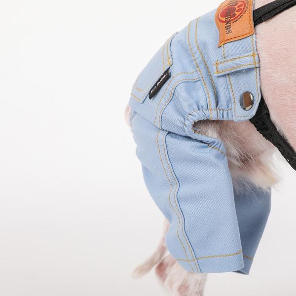 デニム パンツ      犬 服 犬の服 ドッグウェア デニム パンツ ズボン ジーパン ジーンズ ストレッチ|best-friends|11