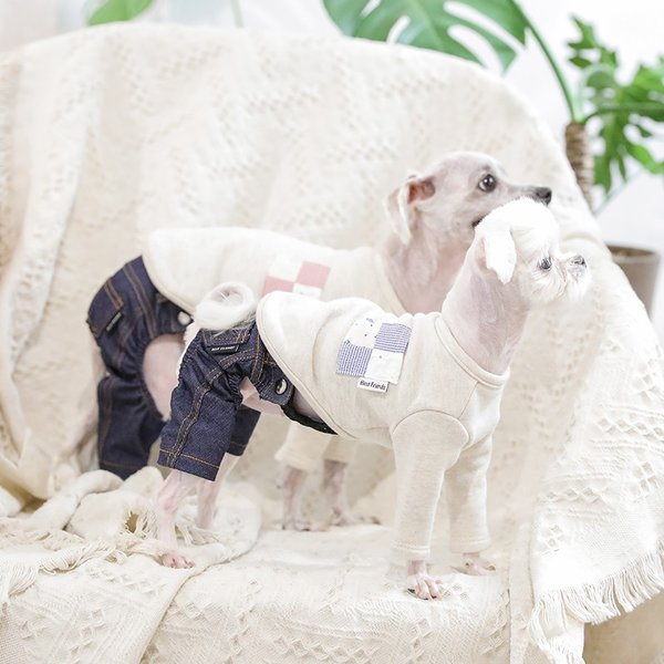 デニム パンツ      犬 服 犬の服 ドッグウェア デニム パンツ ズボン ジーパン ジーンズ ストレッチ|best-friends|03