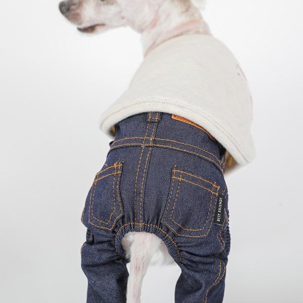 デニム パンツ      犬 服 犬の服 ドッグウェア デニム パンツ ズボン ジーパン ジーンズ ストレッチ|best-friends|04