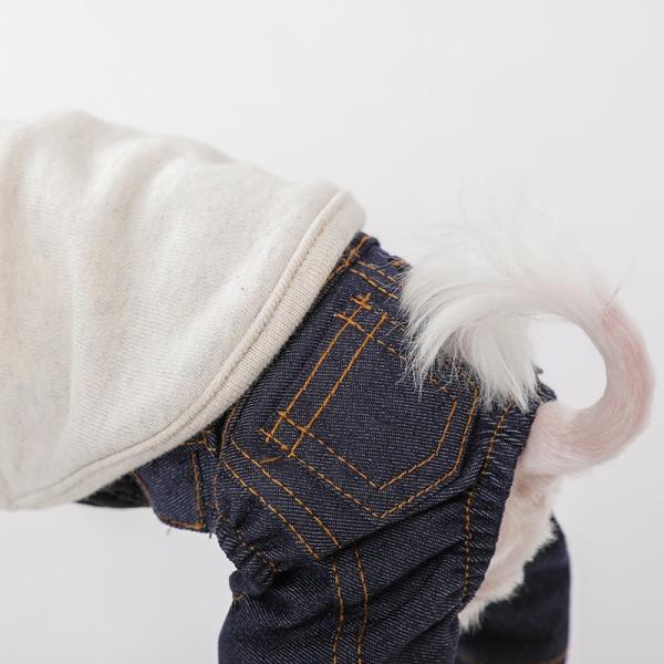 デニム パンツ      犬 服 犬の服 ドッグウェア デニム パンツ ズボン ジーパン ジーンズ ストレッチ|best-friends|05