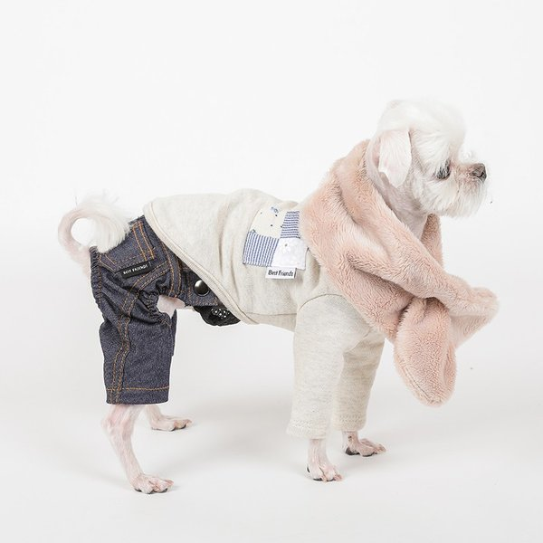 デニム パンツ      犬 服 犬の服 ドッグウェア デニム パンツ ズボン ジーパン ジーンズ ストレッチ|best-friends|07