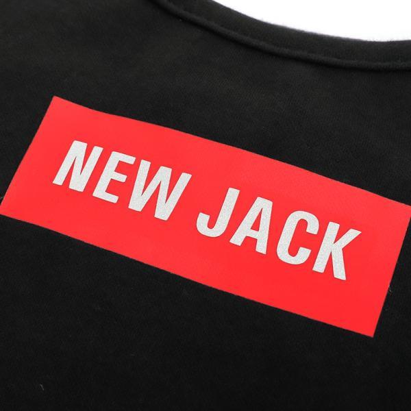 【NEW JACK】 ボックスロゴTシャツ 2Color / S,M,L  犬 服 犬の服 ドッグウェア 夜間 反射 プリント シンプル かっこいい おしゃれ ストリート ブランド best-friends 08