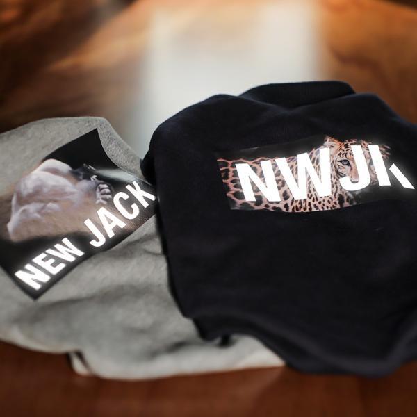 【NEW JACK】ゴリラフォトTシャツ / S,M,L  犬 服 犬の服 ドッグウェア 3M リフレクター 夜間 反射 プリント アニマル おしゃれ ストリート ブランド|best-friends|12