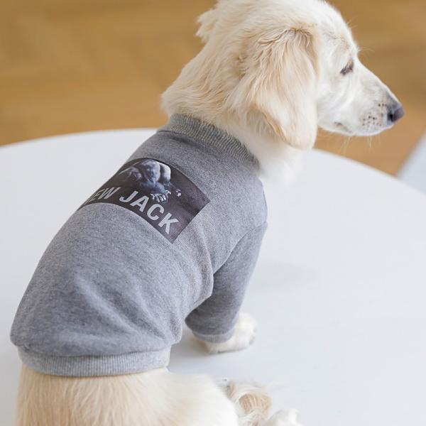 【NEW JACK】ゴリラフォトTシャツ / S,M,L  犬 服 犬の服 ドッグウェア 3M リフレクター 夜間 反射 プリント アニマル おしゃれ ストリート ブランド|best-friends|13
