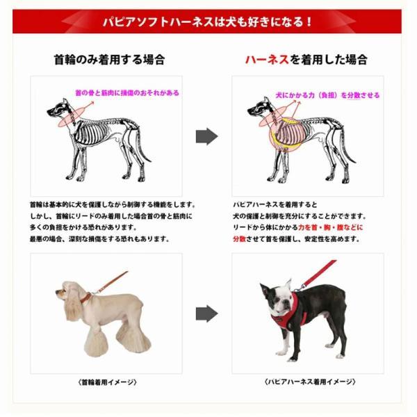 PUPPIA パピア ソフトベストハーネス XS,S,M,L小型犬 中型犬 ハーネス ベストハーネス メッシュ 通気性 ペット 胴輪 犬 ドッグ|best-friends|04