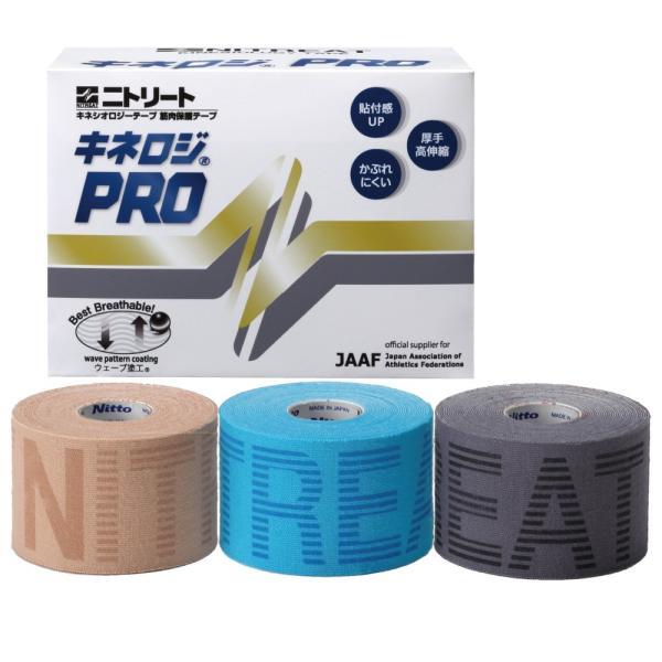 キネシオテープ ニトリート テーピング キネロジプロ キネロジPRO NKP50 50mm幅×4.5m 4巻入