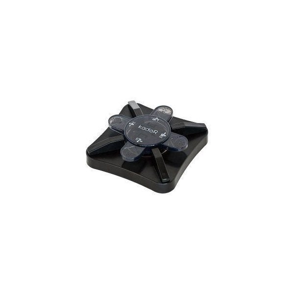 写真や名刺・カードの角を丸くカット『カドアール』ブラック PKR-101BK