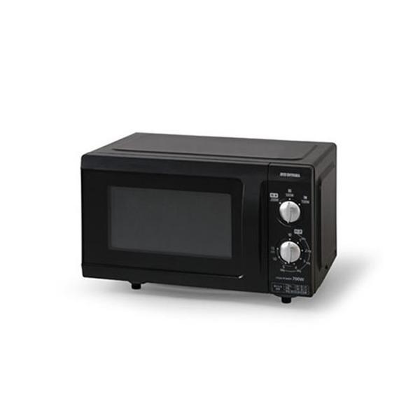 アイリスオーヤマ電子レンジEMO-F518-518Lフラットテーブル50Hzブラック