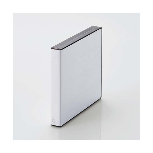 エレコム CCD-FBB12BK Blu-ray・CD・DVD対応クリアケース ブラック