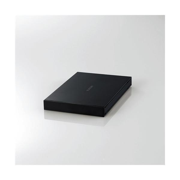 エレコムESD-EJ1000GBK外付けポータブルSSD1TBブラック