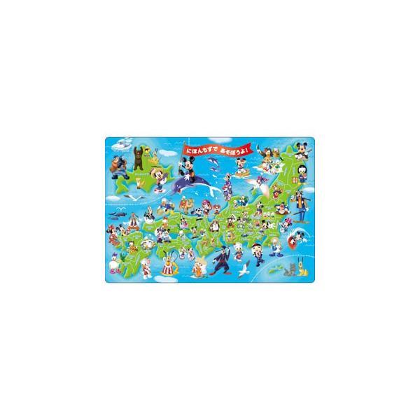テンヨー ジグソーパズル ミッキーと日本地図であそぼうよ!