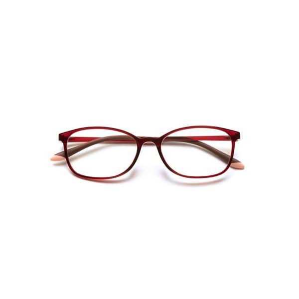 小松貿易 PG-707-RE 老眼鏡 ピントグラス 中度 レッド