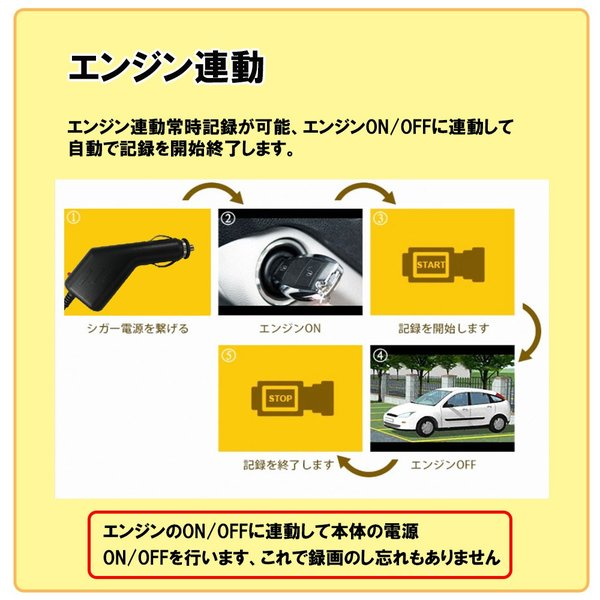 車内も撮れる ドライブレコーダー 360度 ドラレコ 360° あおり 対策 車内 車外 同時録画 ドライブレコーダー バックカメラ セット|bestanswe|07
