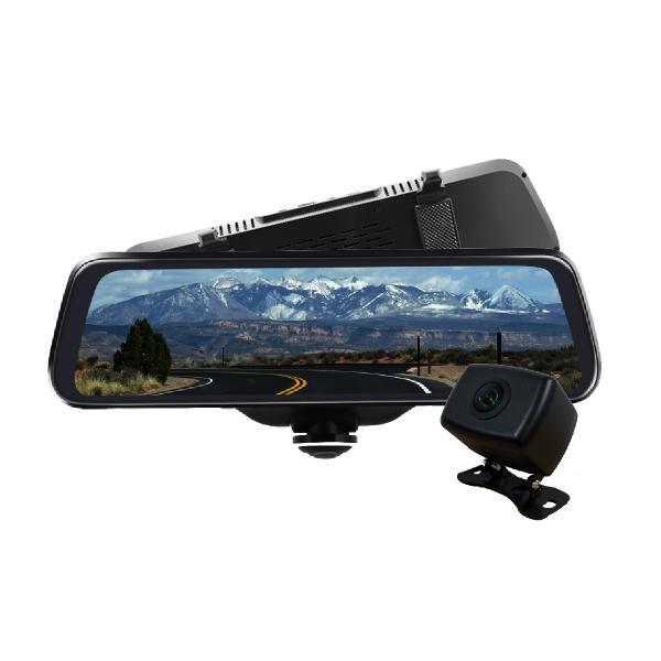 ミラー型 ドライブレコーダー 360度 ドラレコ 360° あおり 対策 ドライブレコーダー バックカメラ セット|bestanswe|08