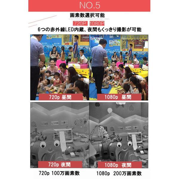 据え置き型 イヌ型 ワイヤレス 防犯カメラ セキュリティ カメラ 防犯 空き巣 泥棒 スマホ 連動 アプリ|bestanswe|06